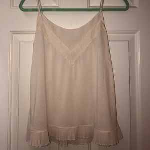 American Eagle Frilly Tank